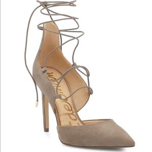Sam Edelman Heline Lace Up Pump